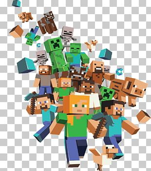 Minecraft Large Group PNG