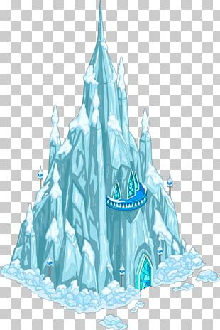 Elsa Anna Ice Palace Castle PNG