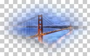 Golden Gate Bridge Bridge–tunnel Oil Painting PNG
