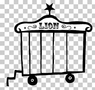 Cage Lion Drawing Tiger Circus PNG