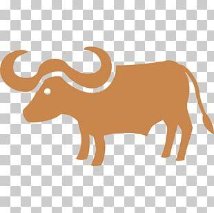 Cattle Water Buffalo Ox Emoji PNG