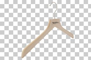 Clothes Hanger Wood Metal Hook Clothing PNG
