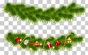 Christmas Tree Garland PNG