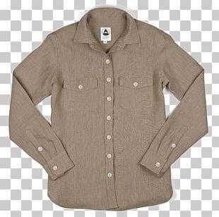 Tomboy Sleeve Shirt Button Jacket PNG