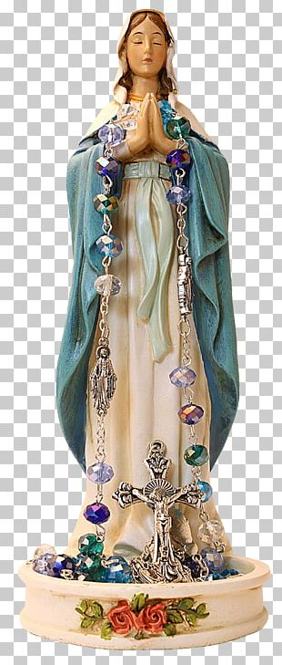 Mary Statue Madonna And Child Our Lady Of Guadalupe Rosary PNG