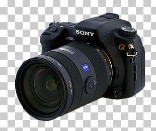 Digital SLR Sony Alpha 700 Camera Lens Single-lens Reflex Camera PNG