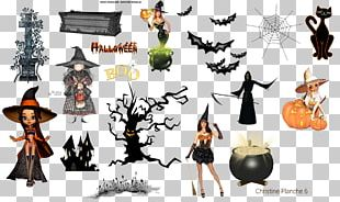 Halloween Witch Ghost PNG