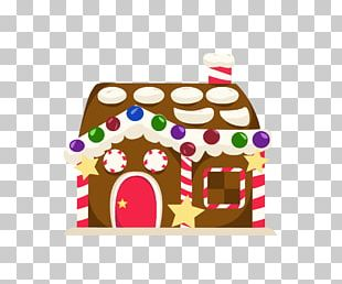 Gingerbread House Christmas Ornament Christmas Decoration Food PNG