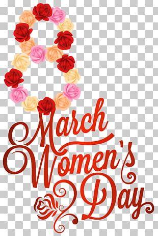 International Women's Day Valentine's Day PNG