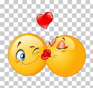 Emoticon Smiley Kiss PNG