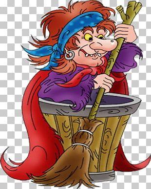 Baba Yaga Fairy Tale Character Leshy Hero PNG