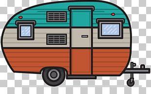 Campervans Caravan Camping Vehicle PNG
