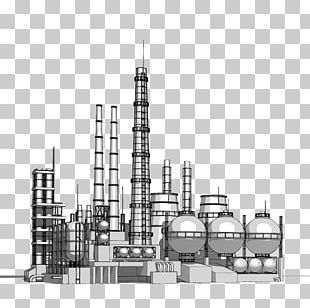 Heavy Industry Petrochemical Chemical Plant PNG