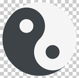 Emoji Symbol Yin And Yang Sticker Meaning PNG
