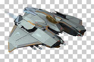 Science Fiction Concept Art Starship Bomber Idea PNG