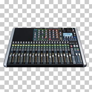 Audio Mixers Microphone Digital Mixing Console Soundcraft Spirit Si Performer 3 PNG