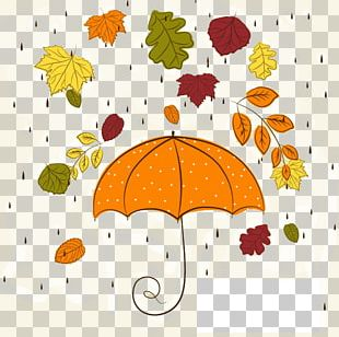 Autumn Rain PNG