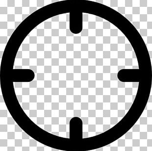 Telescopic Sight Computer Icons Reticle Icon Design PNG