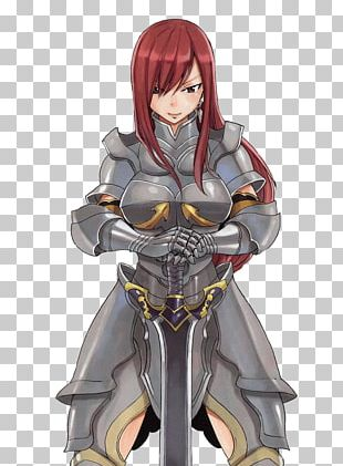 Erza Scarlet Anime Quotation Manga PNG