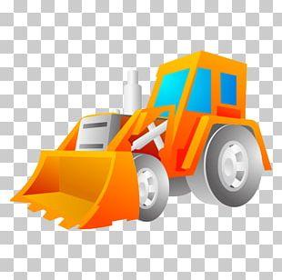 Excavator Car PNG