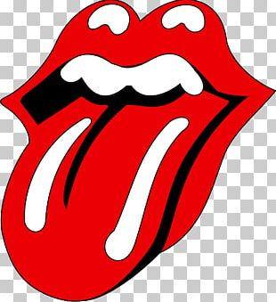 The Rolling Stones Drawing Tongue Logo PNG