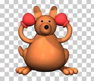 Boxing Kangaroo 3D Computer Graphics Animation 3D Modeling PNG