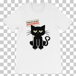 Cat T-shirt Sleeve Unisex Cuteness PNG