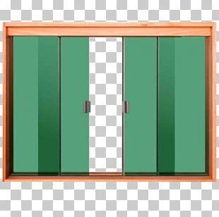 Window Wood Toughened Glass Door PNG