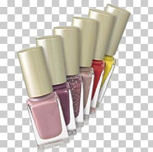 Nail Polish Cosmetics Face Powder Eye Shadow Lipstick PNG