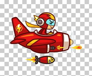 Thunder Plane Airplane Red Plane Game Plane Pixel Sprite PNG