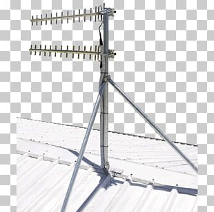 Aerials Metal Roof Television Antenna Ground Plane PNG