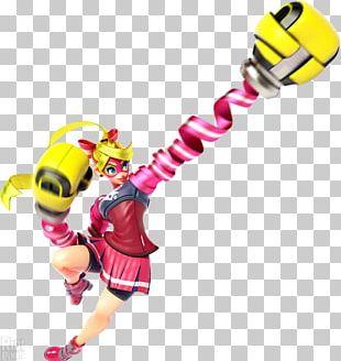 ARMS: Lola Pop Printing Ribbon Nintendo Switch PNG
