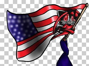 Flag Of The United States Character PNG
