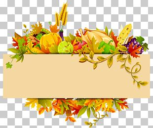 Harvest Autumn Thanksgiving PNG