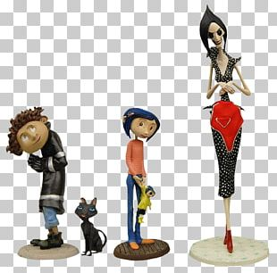 Other Mother NECA Coraline Best Of PVC Figure 3-Pack Action & Toy Figures Wybie Lovat PNG
