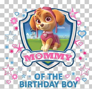 Puppy T-shirt Birthday Iron-on Party PNG