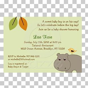 Wedding Invitation Green Baby Shower Convite PNG