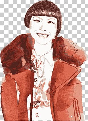Fashion Illustration Watercolor Painting Illustration PNG