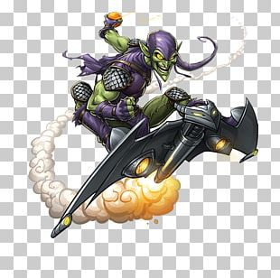 Green Goblin Spider-Man Harry Osborn Iron Man Thor PNG