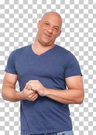 Smiling Vin Diesel PNG