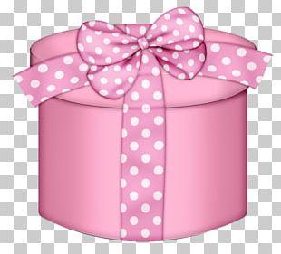 Gift Box Pink PNG