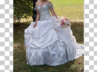 Wedding Dress Shoulder Party Dress Gown PNG