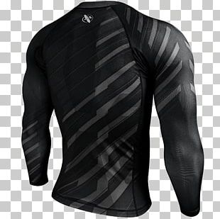 Rash Guard Brazilian Jiu-jitsu Shirt Sleeve Clothing PNG