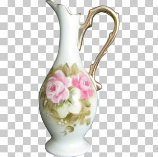 Vase Jug Pitcher Decorative Arts Floral Design PNG