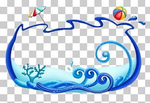 Sea Wind Wave Circle Marine Biology Fundal PNG