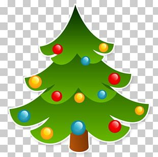 Christmas Tree New Year Tree Drawing Pine PNG