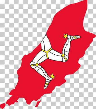 Flag Of The Isle Of Man Manx Maritime Flag PNG