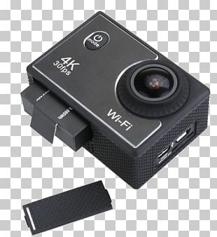 Camera Lens Action Camera 1080p DENVER ACK-8060W PNG