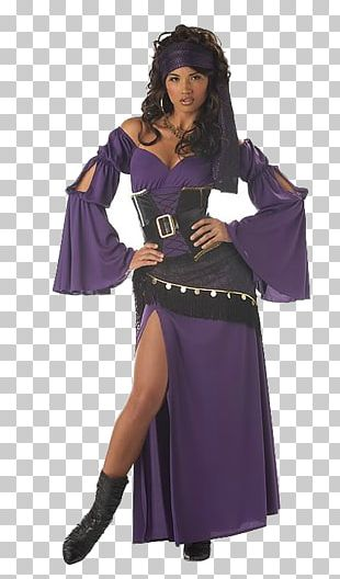 Halloween Costume Romani People Clothing Fortune-telling PNG