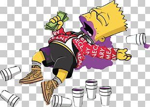 Bart Simpson Homer Simpson Supreme Drawing PNG